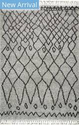 Nuloom Valinda Moroccan Grey Area Rug