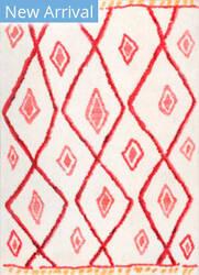 Nuloom Maureen Bohemian Diamond Pink Area Rug