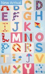Nuloom Alphabet Boxes Multi Area Rug