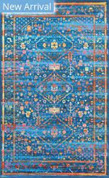 Nuloom Aimee Vintage Blue Area Rug