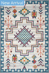 Nuloom Richelle Tribal Medallion Blue Area Rug