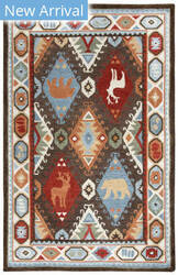 Rizzy Northwoods Nwd102 Brown Area Rug