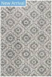 Safavieh Abstract Abt202a Ivory - Dark Grey Area Rug