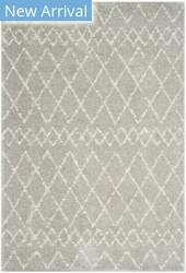 Safavieh Berber Shag Ber165b Light Grey - Cream Area Rug