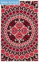 Safavieh Bellagio Blg610k Red - Ivory Area Rug