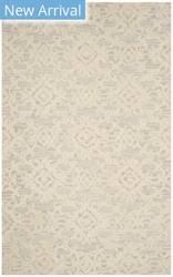 Safavieh Blossom Blm104a Grey - Ivory Area Rug