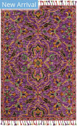 Safavieh Blossom Blm451a Purple - Multi Area Rug