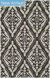 Safavieh Blossom Blm602h Charcoal - Ivory Area Rug