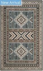 Safavieh Classic Vintage Clv511b Slate - Beige Area Rug
