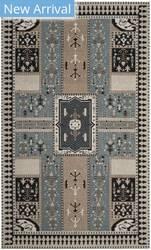 Safavieh Classic Vintage Clv512b Slate - Beige Area Rug