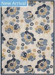 Safavieh Cottage Cot920b Ivory - Blue Area Rug
