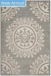 Safavieh Cottage Cot930r Grey - Cream Area Rug