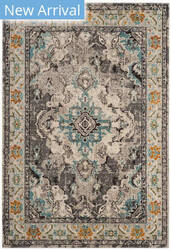 Safavieh Monaco Mnc243g Grey - Light Blue Area Rug