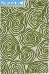 Trans-Ocean Lalunita Block Print 6040/06 Green Area Rug