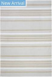 Trans-Ocean Plaza Stripe 7858/12 Neutral Area Rug