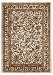 828 Greenville Collection 1-1004-70 Ivory with Ivory Border Area Rug
