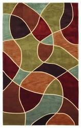 828 Mirage Collection 3-0567-99 Multi Area Rug