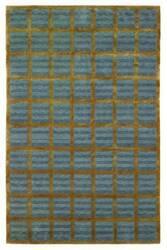 828 Tibetan Collection TIB79 Blue/Gold Area Rug