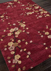 Addison And Banks Hand Tufted Abr0139 Red Area Rug