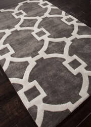 Addison And Banks Hand Tufted Abr0261 Liquorice Area Rug
