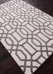 Addison And Banks Hand Tufted Abr0265 Antique White/Liquorice Area Rug
