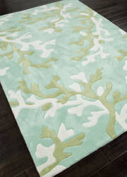 Addison And Banks Hand Tufted Abr1015 Turquoise Blue Area Rug