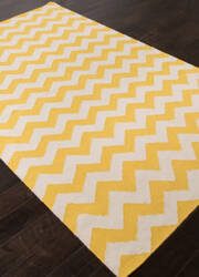 Addison And Banks Flat Weave Abr1223 Yellow Outlet Area Rug