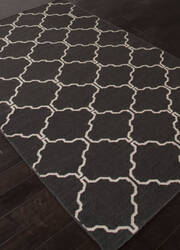 Addison And Banks Flat Weave Abr1235 Black Olive Area Rug