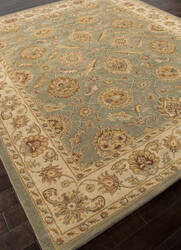 Addison And Banks Hand Tufted Abr0525 Sea Green/Light Gold Area Rug