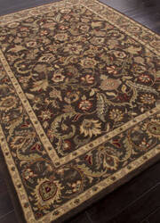 Addison And Banks Hand Tufted Abr0568 Dark Brown/Mushroom Area Rug
