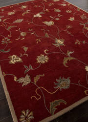 Addison And Banks Hand Tufted Abr1375 Red Area Rug