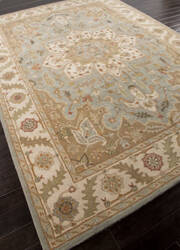 Addison And Banks Hand Tufted Abr0574 Blue Surf/Cloud White Area Rug