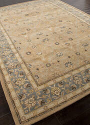 Rugstudio Sample Sale 82263R Tan/Blue Area Rug
