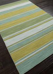 Addison And Banks Flat Weave Abr0613 Lime Green Area Rug