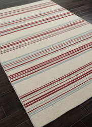 Addison And Banks Flat Weave Abr0618 White Ice / Porcelain Blue Area Rug