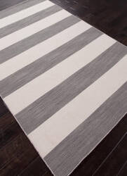 Addison And Banks Flat Weave Abr0635 Stone Gray - White Ice Area Rug