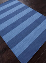 Addison And Banks Flat Weave Abr0636 Evening Blue - Bermuda Blue Area Rug