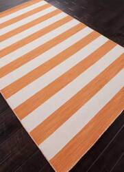 Addison And Banks Flat Weave Abr0641 Vermillion Orange Outlet Area Rug