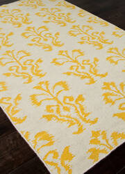Addison And Banks Flat Weave Abr0460p Yellow Area Rug