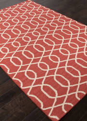 Addison And Banks Flat Weave Abr1479 Chili Pepper Area Rug