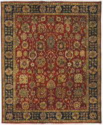 Amer Antiquity Fc-32 Rust Area Rug