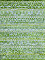 Amer Feza Fez-7 Apple Green Area Rug