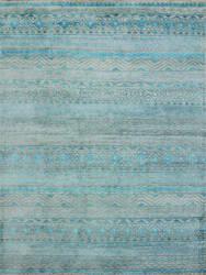 Amer Feza Fez-8 Aqua Blue Area Rug