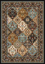 American Dakota Specialty Badillo Blue Area Rug