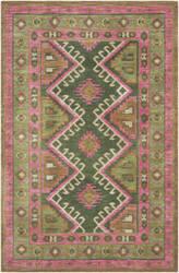 Surya Arabia Nadine Hot Pink - Olive Area Rug