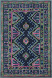 Surya Arabia Nadine Navy - Hot Pink Area Rug