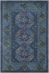Surya Arabia Joelle Navy - Hot Pink Area Rug