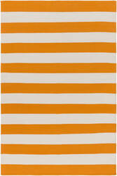 Surya City Park Lauren Orange - Ivory Area Rug