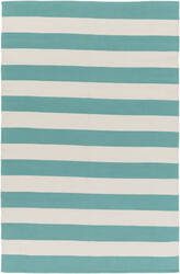 Surya City Park Lauren Aqua Blue - Ivory Area Rug