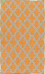 Surya York Olivia Orange/Grey Area Rug